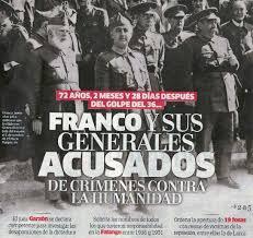 Juzgar al franquismo